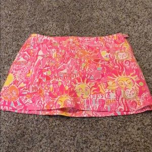 Lily pullitzer skirt size 2